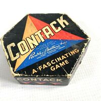 1939 CONTACK vintage family game by PARKER BROTHERS for 2 to 7 players SALEM, MA