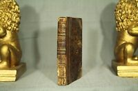 rare antique old leather small little book Lacon 1825 Colton decorators shelf