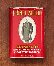Vintage Prince Albert Tobacco Tin ~Crimp Cut For Pipe & Cigarette Smokers~ Tins
