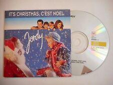 JORDY : IT'S CHRISTMAS, C'EST NOEL ♦ CD SINGLE PORT GRATUIT ♦