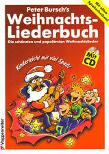 Peter Bursch Weihnachtsliederbuch für Gitarre mit CD