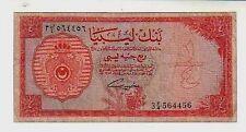 Libya 1/4 pound  1963 MB/BB  Poor/aGood  pick 23a lotto 112