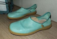 Women's CAMPER Mint Green Leather Slip On Shoes Size 39 US 9