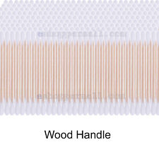 550 PC Wood Stick Cotton Swab Applicator Q-tip Double Wooden Handle STURDY!