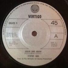 """Status Quo 45RPM Soft Rock 7"""" Singles"""