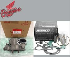 NEW 00 01 2001 HONDA CR250R CR 250 OEM CYLINDER W WISECO PRO HIGH PER PISTON KIT