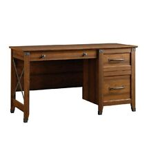 Computer Office Desk With Draw Storage Home Organizer Desktop Rustic Writers NEW