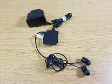 Nokia BH-111 Black Bluetooth Stereo Headset W/ In ear Headset + AC Adapter