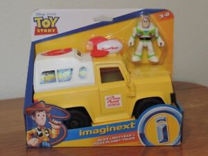 Imaginext Disney Pixar Toy Story Pizza Planet Truck NEW