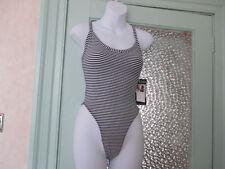 Black Striped Lingerie Bodies for Women  2653c9b97