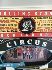 Rolling Stones 3D Store Display Rock and Roll Circus - Yoko Ono Beatles Lennon