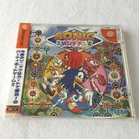 NEW and Sealed SONIC SHUFFLE Sega Dreamcast Japan game [Track Shipping]