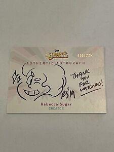 Cryptozoic Steven Universe Rebecca Sugar Autograph Auto Sketch Card /225