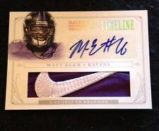 2013 13 NATIONAL TREASURES MATT ELAM TIMELINE NIKE LOGO PATCH Auto 1/2 Ssp Wow