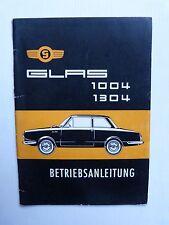 notice service et entretien automobile : GLAS  1004 1304 de 1965