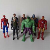 Marvel Avengers Large Figure Bundle 11in - Hulk, Thor, Black Widow (1600)
