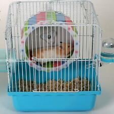 Hamster Running Wheel Small Pet Plastic Cage Accessories Mute Exercise Toys