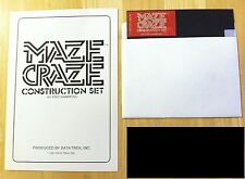Maze Craze Construction Set by Data Trek game disk Apple II+,IIe,IIc,IIgs 1983