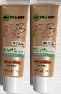 Garnier BB Cream Daily Anti-Acne Miracle Perfector Oil Free Medium/Deep N0 B0X