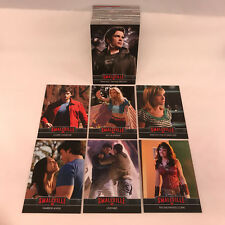 SMALLVILLE: THE FINAL SEASONS (SEASONS 7-10) Complete Base Card Set New For 2012
