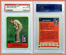 1982 Donruss Jack Nicklaus Golf Card PSA 8 Near Mint Champion PGA Legend HoF