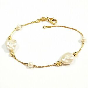 Freshwater KESHI Pearls 14kt Gold Filled BRACELET - Made to your size!