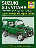 Haynes 1942 Manual for Suzuki SJ410 SJ413 & Vitara 1982-1997