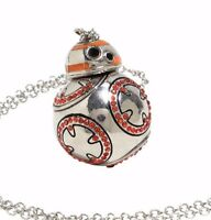 Star Wars The Force Awakens BB-8 Spinning 3D Bling 180 Jems Pendant Necklace New