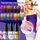 Belen Thermal Color Change Soak Off Nail Lacquer Gel Polish UV LED Base Top Coat