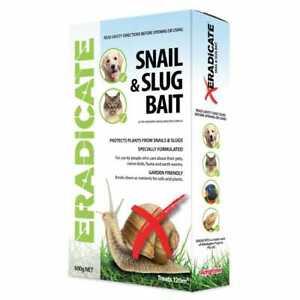 AMGROW Eradicate Snail & Slug Bait 600g Garden Friendly Pest Control