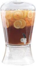 Creativeware 3 Gallon Unbreakable Beverage Dispenser w/ Ice Cone Infuser
