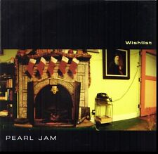 PEARL JAM WISHLIST 45RPM VINYL WITH PICTURE SLEEVE