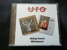 *USED* UFO: Making Contact / Misdemeanor 2 x CD Set VGC *FREE POSTAGE*