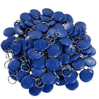 100pcs M4100 125KHz RFID EM ID Card Tag Token Key Chain Keyfob Read Only New