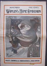 SCARCE 1897 WOMAN'S HOME COMPANION MAGAZINE LEYENDECKER THANKSGIVING OPIE READ