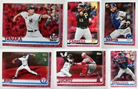 2019 Topps Update Mother's Day Pink Baseball Cards Complete Set U You Pick /50