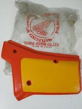 NOS,OEM.Honda XR-200R,Honda XR-250R.1984-1985. left side cover,Panel.