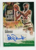 2019-20 Bob Dandridge 170/179 Auto Panini Court Kings High Court Autographs