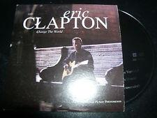 Eric Clapton Change The World Australian Card Sleeve CD Single