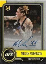 2019 UFC Museum Collection Museum Autographs Gold #MAMA Megan Anderson Auto /25