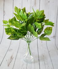 Artificial Pothos Foliage Bush x 2 bunches - home weddings events crafts display