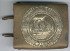 "WWI Old Belt lock ""Gott mit Uns"" -Messing, starke Fehler, 100% Original"