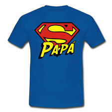 T-shirt uomo Super Papà, idea regalo festa del papà, superman inspired!