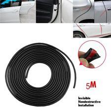5M Black Moulding Trim Rubber Strip Car Door Scratch Protector Edge Guard DIY