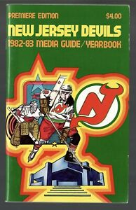 ORIGINAL 1982-83 NEW JERSEY DEVILS NHL MEDIA GUIDE YEARBOOK FACT BOOK