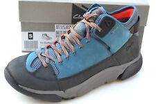 Clarks BNIB Mens Hiking Boots TRI OUTFLEX GTX Teal Combination UK 8 / 42