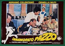 T76 FOTOBUSTA  INNAMORATO PAZZO ADRIANO CELENTANO ORNELLA MUTI 1