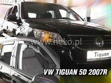 HEKO Windabweiser für  VW TIGUAN 5türer ab 2008 -2015  4teilig 31172