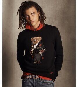 $398+ RARE NWT POLO RALPH LAUREN Men's XXL 2XL Holiday 2020 Duffel Bear Sweater