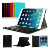 For iPad 6th Gen 9.7 inch 2018 Wireless Bluetooth Keyboard Slim Smart Cover Case
